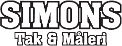Simons Tak & Måleri Logo